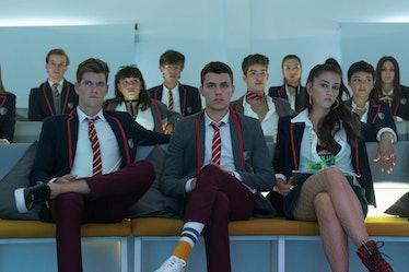 The Elite Season 4 cast.