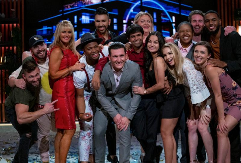 'The Circle' Season 1 cast members: Ed, Alex, Rebecca, Chris Sapphire, Sean, Shubham Goel, Joey Sass...