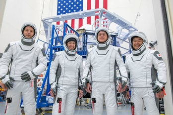 The Crew-2 is SpaceX's first international manned mission.