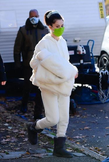 Selena Gomez wearing white