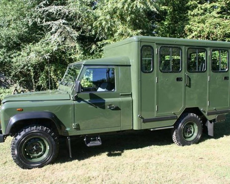 Prince Philip, the Duke of Edinburgh, will be transported to his funeral in a custom, hybrid-electric Land Rover.