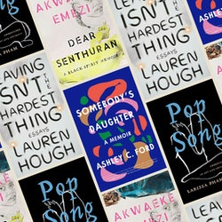 A collage of new debut books releasing in the second quarter of 2021.