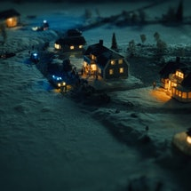 The town of Knutby in 'Pray, Obey, Kill' via the HBO press site