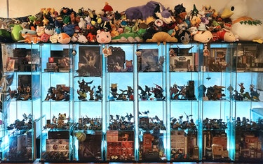 Veronica's Monster Hunter collection.