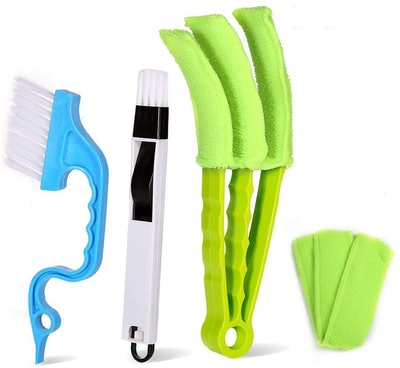 NAWIQI Blind Cleaner and Groove Cleaning Tool Set (3-Pieces)