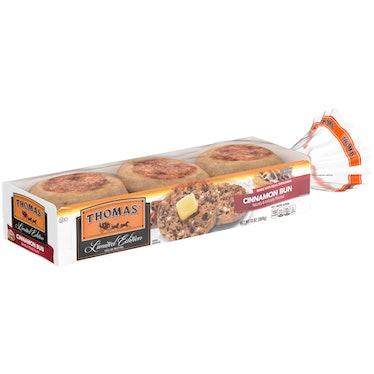 Thomas' English Muffins' Cinnamon Bun flavor is a sweet breakfast mashup.