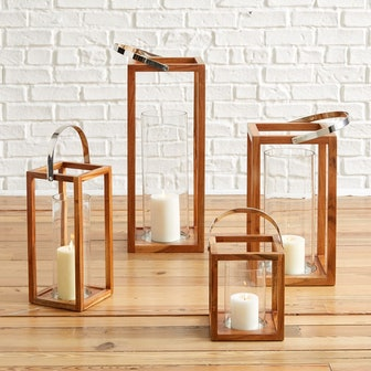 Simple Wood Lanterns