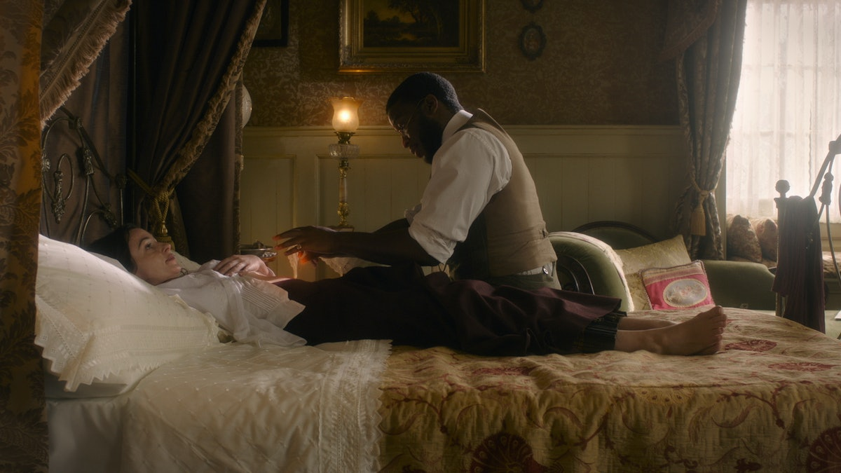 Laura Donnelly, Zackary Momoh in HBO's The Nevers