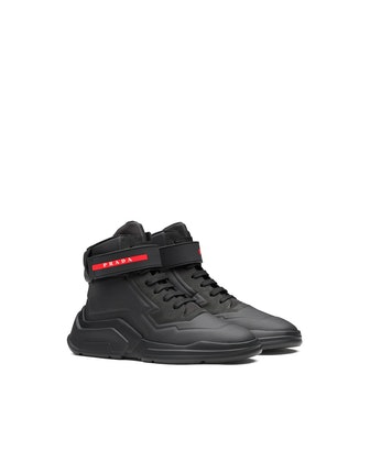 Prada Polarius 19 LR High-Top Sneakers