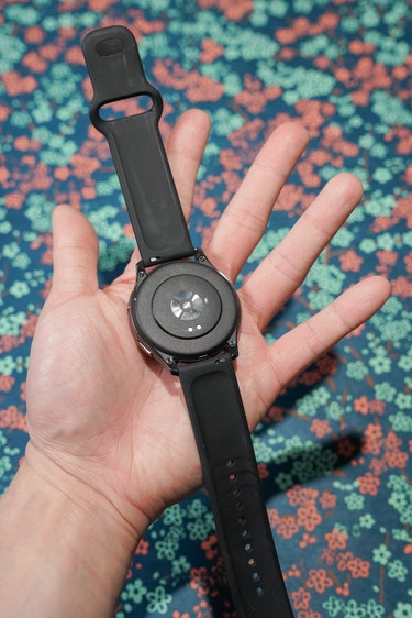 The OnePlus Watch has heart rate, stress, sleep, and blood oxygen monitoring.