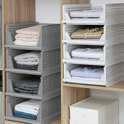 Hosseboy Closet Storage Baskets (4-Pack)
