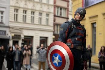 Captain America John Walker Steve Rogers symbols