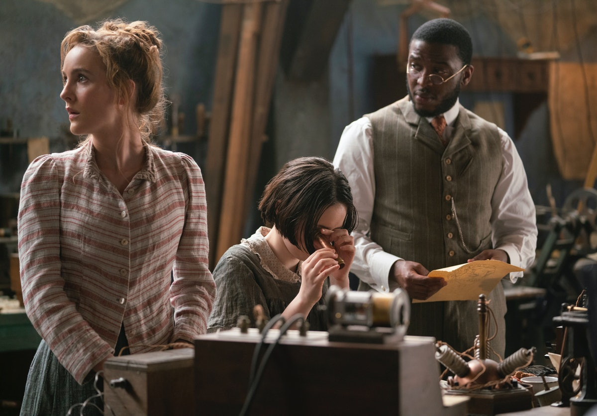 Ann Skelly and Zackary Momoh in HBO's The Nevers
