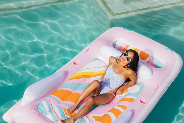 This FUNBOY x Barbie Float Collection features floats and accessories.
