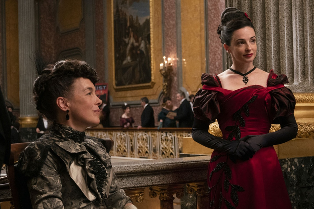 Olivia Williams and Laura Donnelly in HBO The Nevers