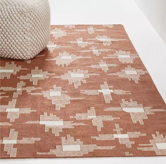 Ullio Clay Ikat Indoor/Outdoor Rug