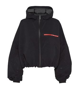 Light Bi-Stretch Hooded Jacket
