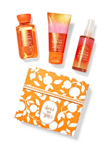 Sunshine Mimosa Mini Gift Box Set