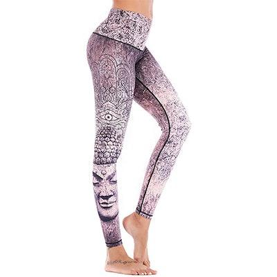 Chisportate Printed Yoga Leggings