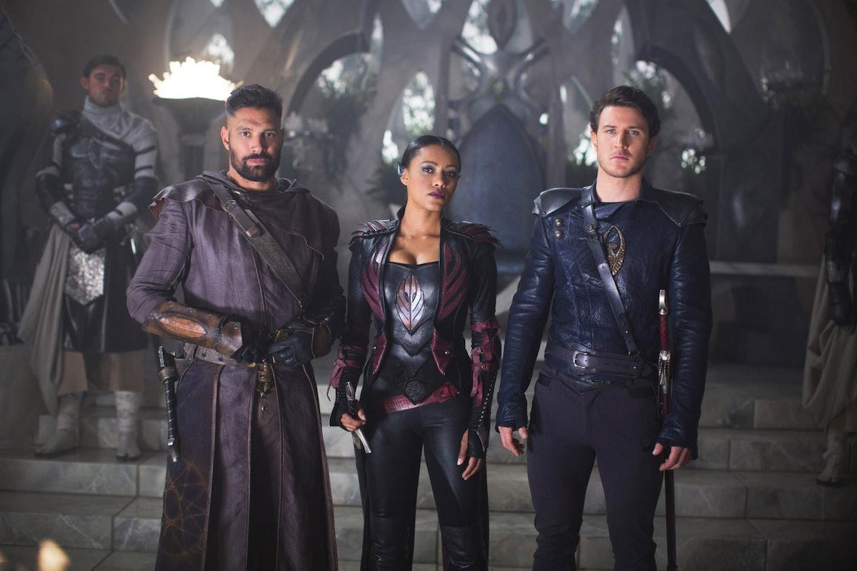 The cast of The Shannara Chronicles.