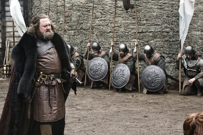 Mark Addy as Robert Baratheon in Game of Thrones