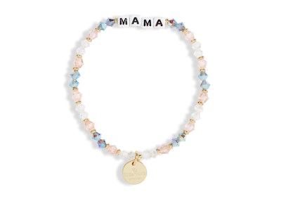 Little Words Project Mama Beaded Stretch Bracelet