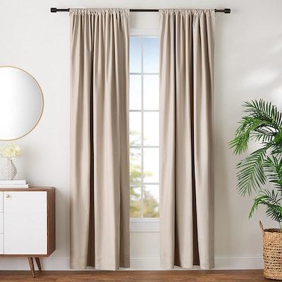 Amazon Basics Room Darkening Curtains