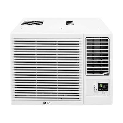 LG 7,500-BTU Window Air Conditioner with Supplemental Heat