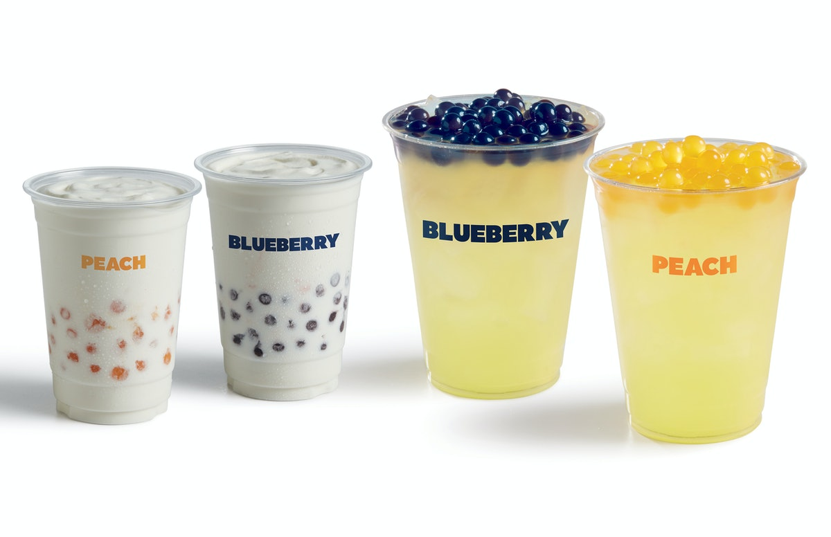 Fast food boba teas include new offerings from Del Taco.