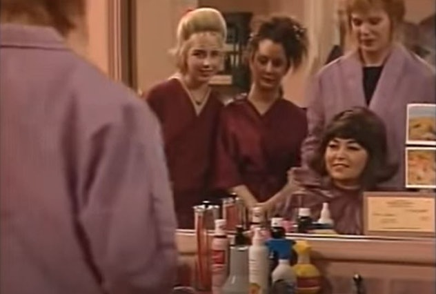 'Roseanne's'  Don't Make Me Over episode first aired in 1992.