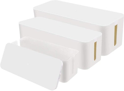 Chouky Cable Organizer Box (Set of 3)