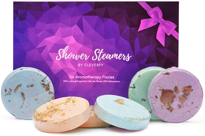 Cleverfly Aromatherapy Shower Steamers (6 Pack)