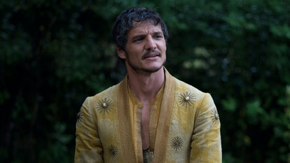 Pedro Pascal as Oberyn in Game of Thrones