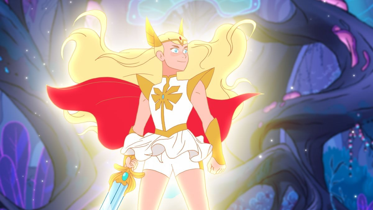 Adora from She-Ra and the Princesses of Power.