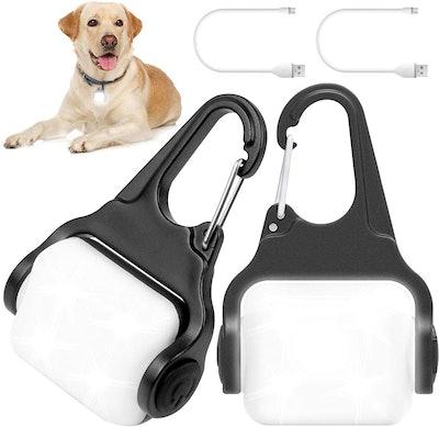 Outopest Clip-On Dog Lights (2-Pack)