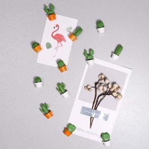 Yarr Cactus Refrigerator Decor Magnets (12-Pack)
