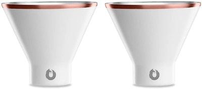 SNOWFOX Insulated Martini Glasses (2-Pack)