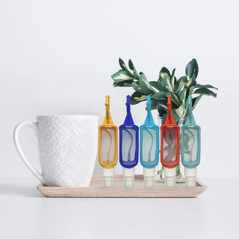 DARUNAXY Plastic Clear Spray Bottles (6 Pieces)