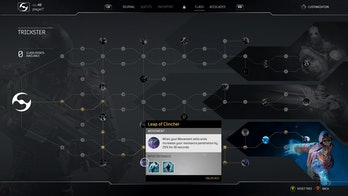 Outriders Trickster Skill Tree