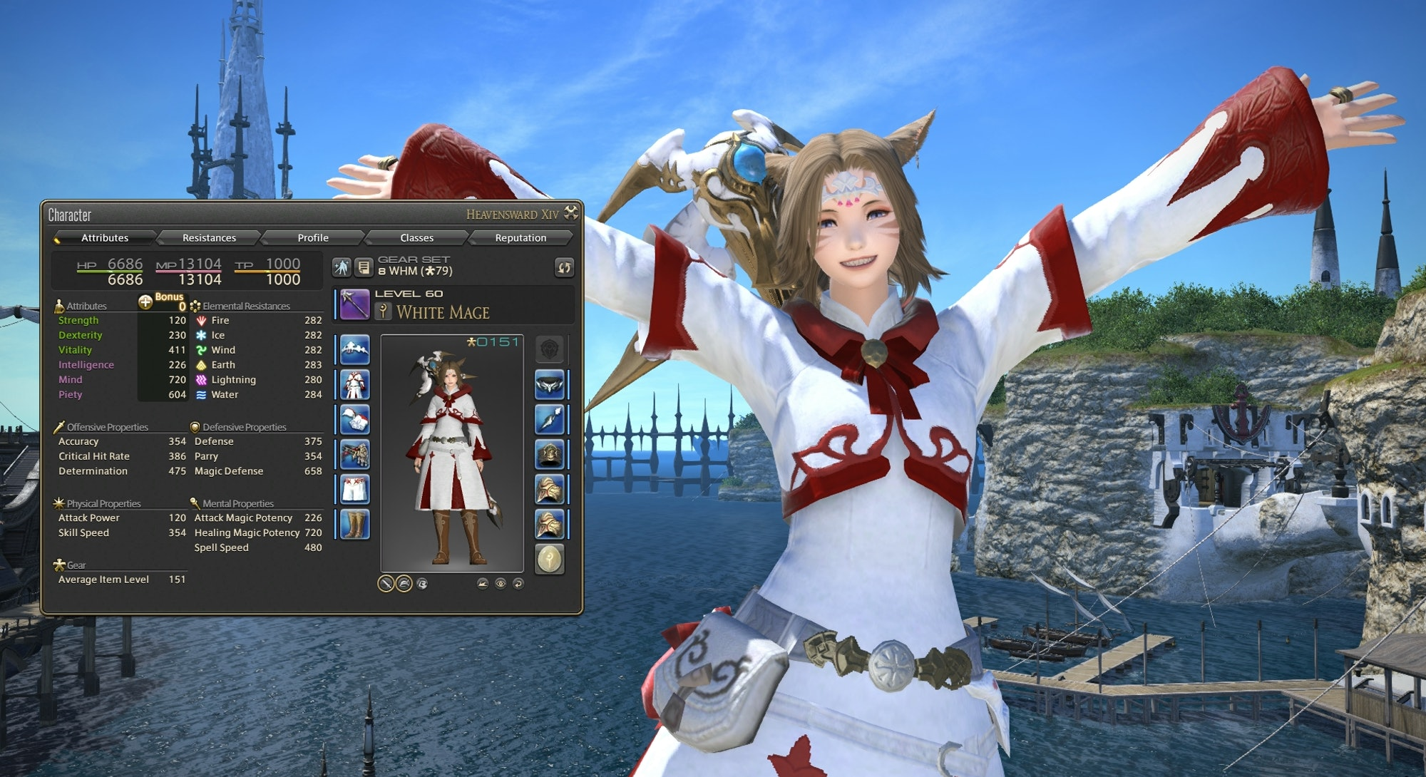white mage in final fantasy xiv