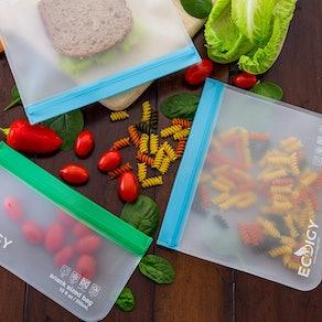 Ecoigy Reusable Sandwich Bags (6-Pack)