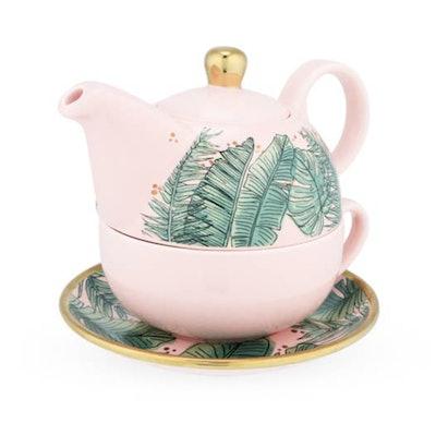 The Tropics Set Personal Teapot