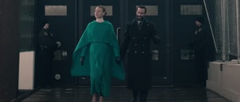 Serena and Fred Waterford in The Handmaid's Tale