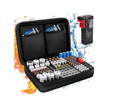 Keenstone Battery Organizer Storage Case