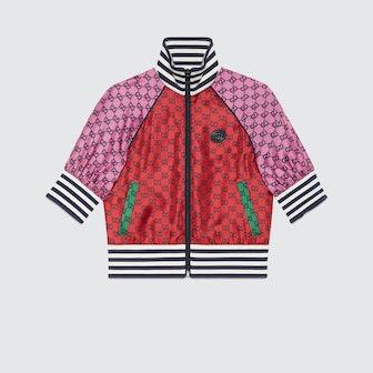 GG Multicolor Short Sleeves Jacket