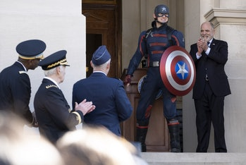 Captain America in 'Falcon and the Winter Soldier'