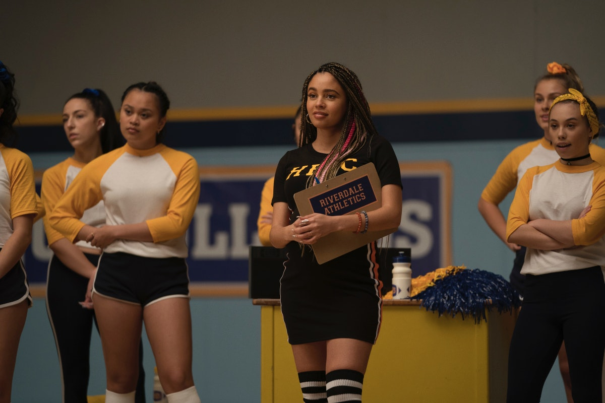 Vanessa Morgan as Toni Topaz on 'Riverdale' Season 5