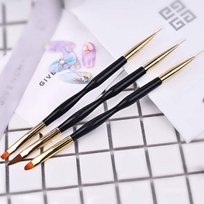 FULINJOY Dual End Nail Drawing Pens (3 Pieces)