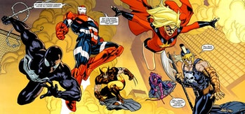 Falcon and Winter Soldier Norman Osborn Dark Avengers 5 theory