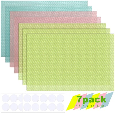 cyrico Refrigerator Liners (7-Pack)